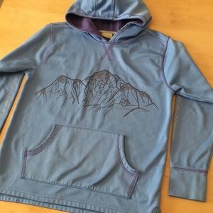 L.L. Bean Mountain Pullover Fleece Size M (10-12)